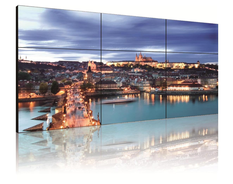 Бесшовный ЖК дисплей AVT1055S7 LCD Display Unit сцена презентация купить заказать