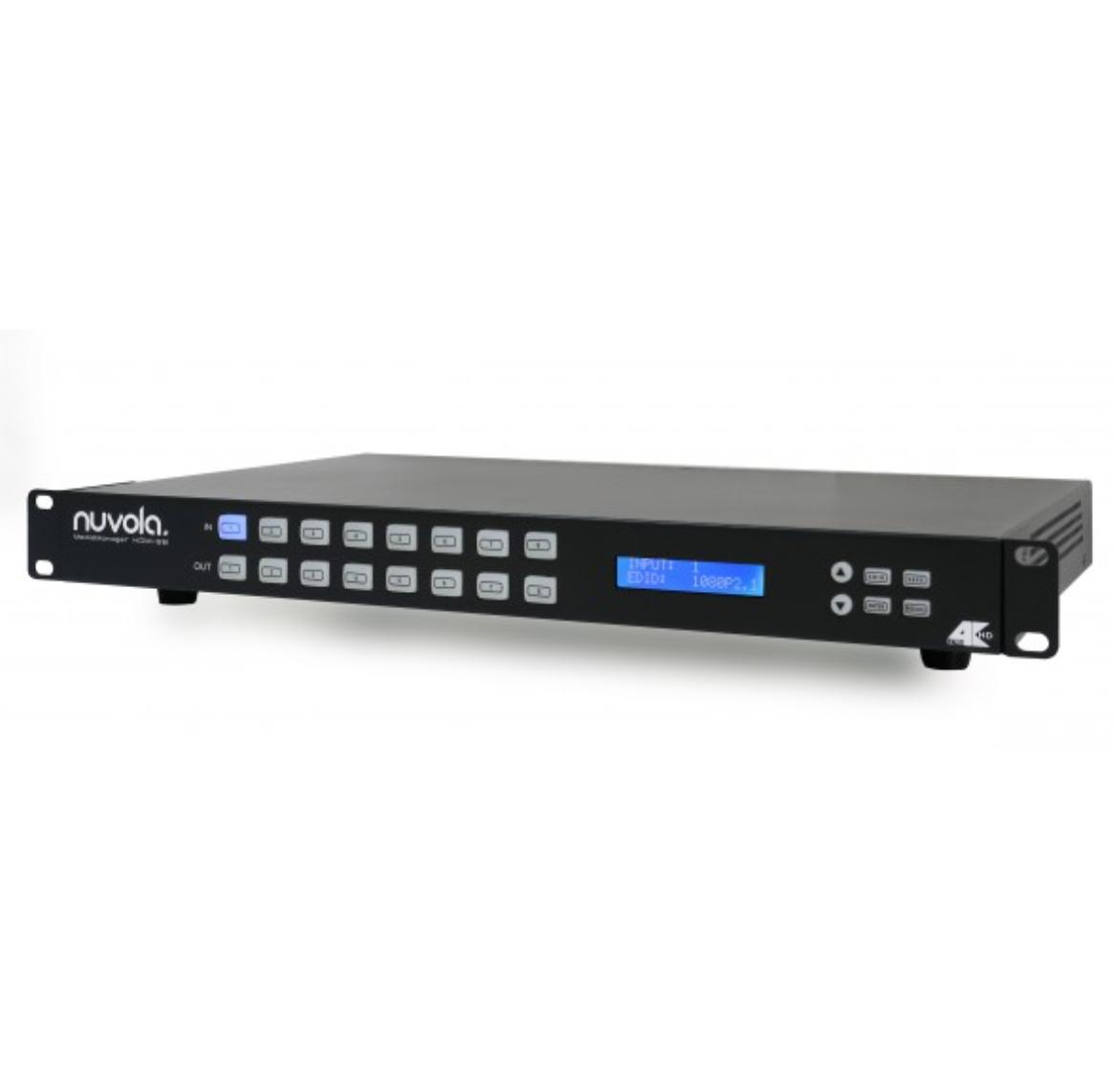 Матричный видеокоммутатор Nuvola MediaManager HDMI 8x8 купить заказать