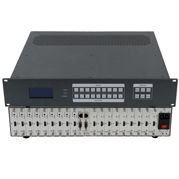 Матричный коммутатор 9 x 9 модульный с поддержкой 4K и бесподрывной коммутацией MM-900 купить заказать