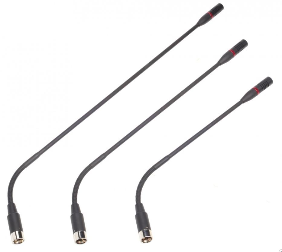 Микрофон с LED индикатором на гибком основании 330 мм VIS-M330 купить заказать