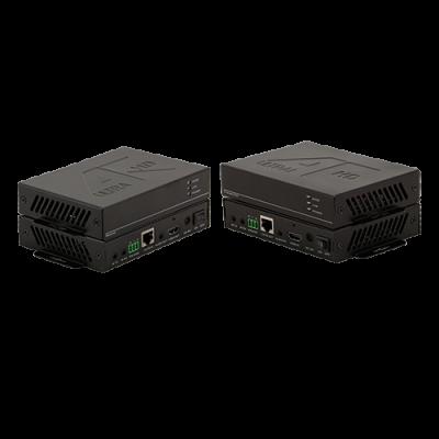 Комплект передатчик и приёмник 4K HDMI, Audio, IR, RS232 по витой паре HDBT-HDMI-70TR купить заказать