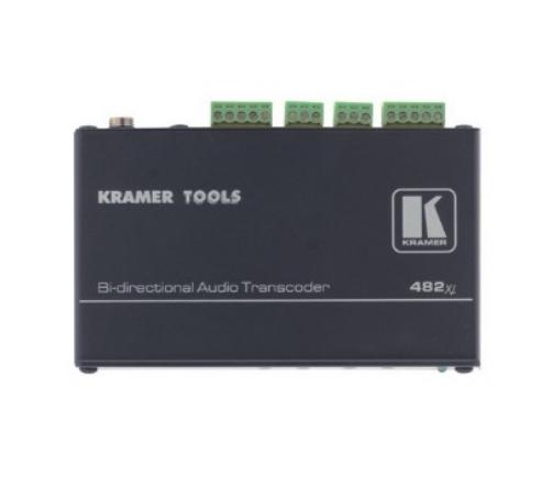 Двунаправленный преобразователь балансного и небалансного стереофонических аудиосигналов KRAMER 482XL купить заказать