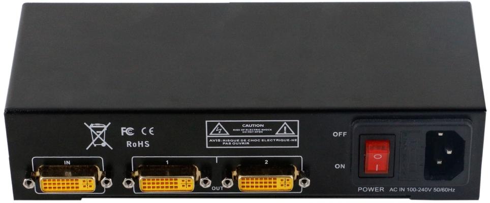 Распределитель сигнала DVI 1х2 SPL-DVI-102E купить заказать