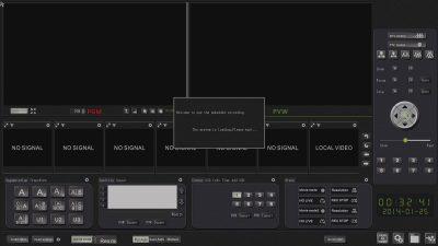 VIS-CRS02-2 Многоканальный аудио и видеорекордер 2 x HDMI c трансляцией в сеть и управлением PTZ камерами HDD 1TB VIS-CRS02 купить заказать