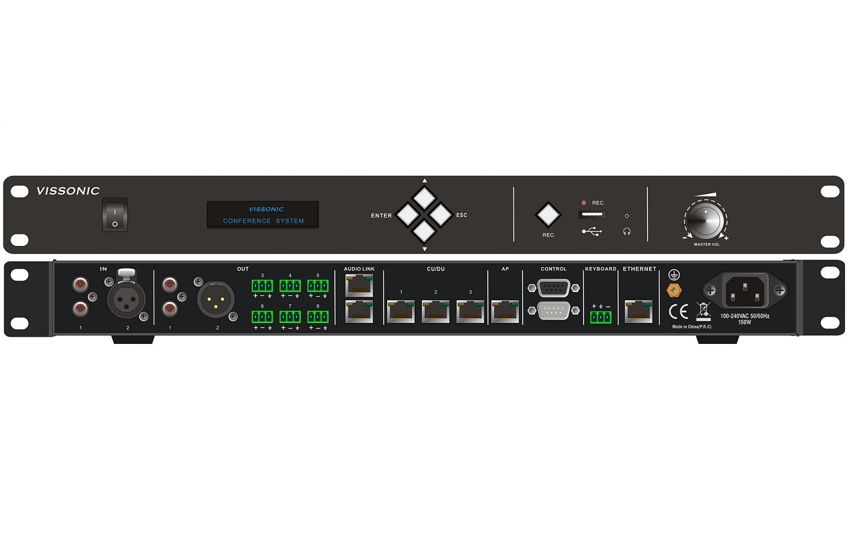 Контроллер управления конференц-системой VIS-DCP2000-D купить заказать