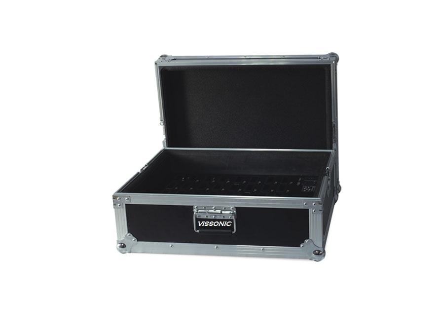 Кейс для хранения и зарядки 40 ИК приёмников VIS-TC40 купить заказать
