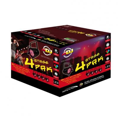 American DJ 4 Stage Pak black купить заказать