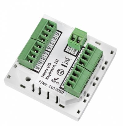 Дополнительная клавиатура на 8 кнопок для контроллеров Neets AlFa II и DelTa купить заказать