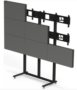 Напольная стойка для видеостены 3х3 FS3x3 купить заказать