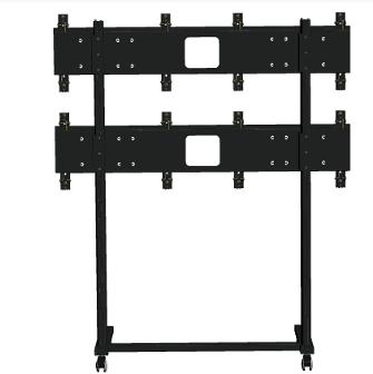 Напольная стойка для видеостены 2х2 FS2x2 купить закзаать