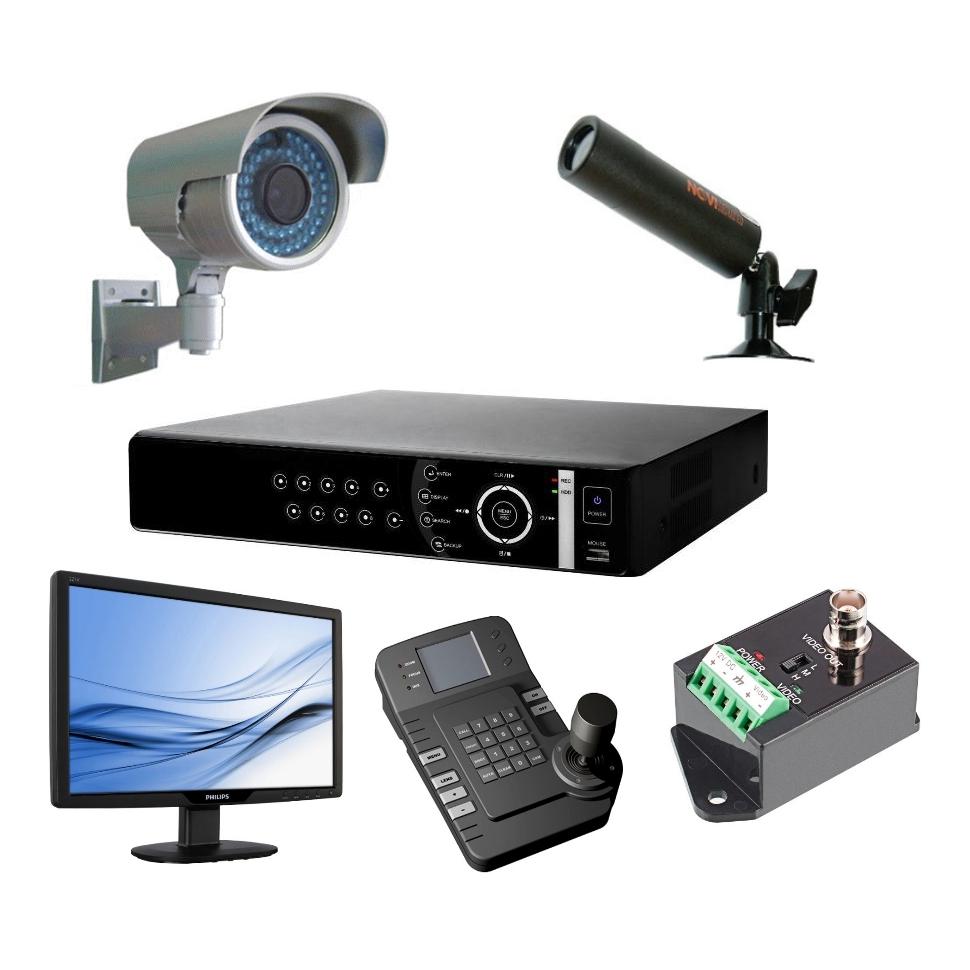 Системы и комплектующие для видеонаблюдения