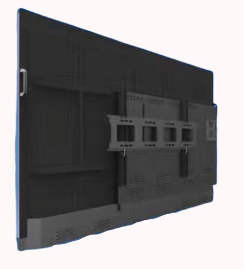интерактивный дисплей вид сзади