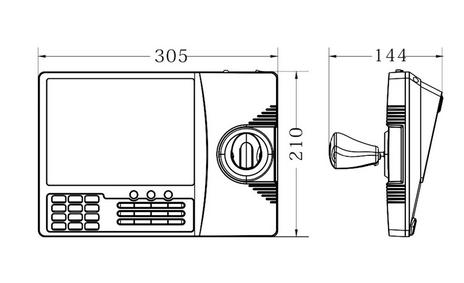 контроллер конференц камеры с джойстиком